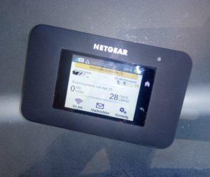 mobile hotspot netgear 4G LTE