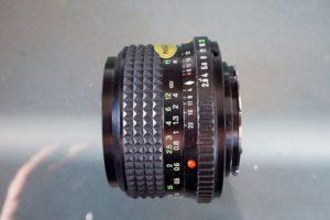 analog lens minolta