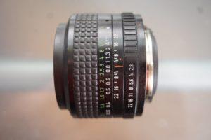 analog lens pentacon