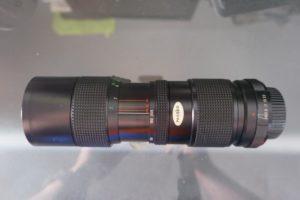 Vivitar 85-205mm f3.8 lens