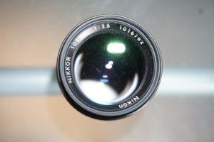 Nikkor 105mm f2.5 Ai-S analog lens