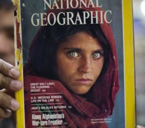 Read my blog post about the Afghan girl with the green eyes by clicking here